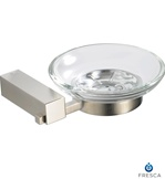 Fresca Ottimo Soap Dish - Brushed Nickel