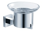 Fresca Glorioso Soap Dish (Wall Mount) - Chrome