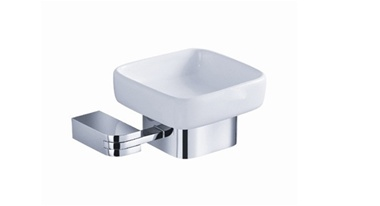 Fresca Solido Soap Dish - Chrome