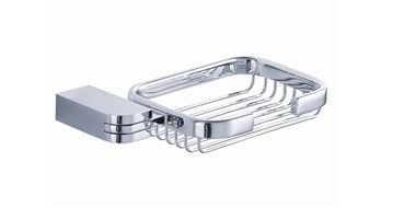 Fresca Solido Soap Basket - Chrome