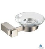 Fresca Ellite Soap Dish - Brushed Nickel