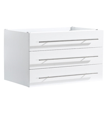 "Fresca Modello 32"" White Modern Bathroom Cabinet"