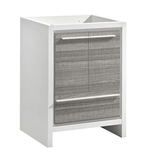 "Fresca Allier Rio 30"" Ash Gray Modern Bathroom Cabinet"