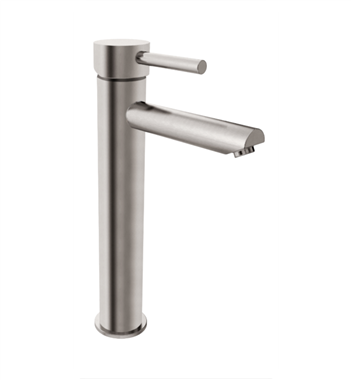 Fresca Tolerus Single Hole Bathroom Faucet - Brushed Nickel