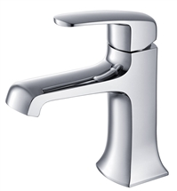 Fresca Verdura Single Hole Mount Bathroom Vanity Faucet - Chrome