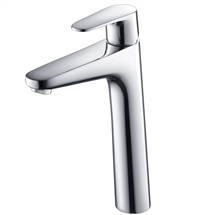 Fresca Diveria Single Hole Vessel Mount Bathroom Vanity Faucet - Chrome
