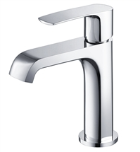 Fresca Tusciano Single Hole Mount Bathroom Vanity Faucet - Chrome
