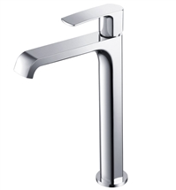 Fresca Tusciano Single Hole Vessel Mount Bathroom Vanity Faucet - Chrome