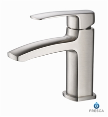 Fresca Fiora Single Hole Mount Bathroom Vanity Faucet - Chrome
