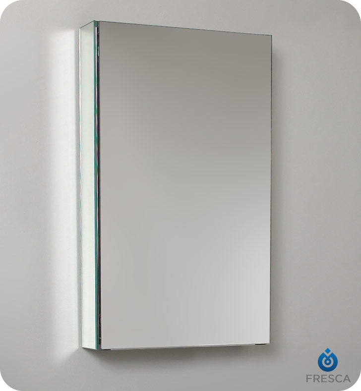 Fresca 15  Wide x 26  Tall Bathroom Medicine Cabinet with Mirrors & Bathroom Vanities | Buy Bathroom Vanity Furniture u0026 Cabinets | RGM ...