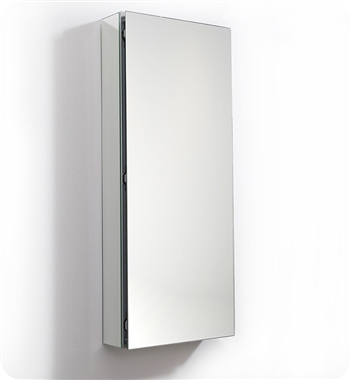 "Fresca 15"" Wide x 36"" Tall Bathroom Medicine Cabinet with Mirrors"