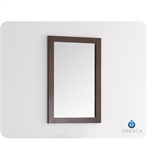 "Fresca Silver Greenwich 20"" Antique Coffee Traditional Bathroom Mirror"