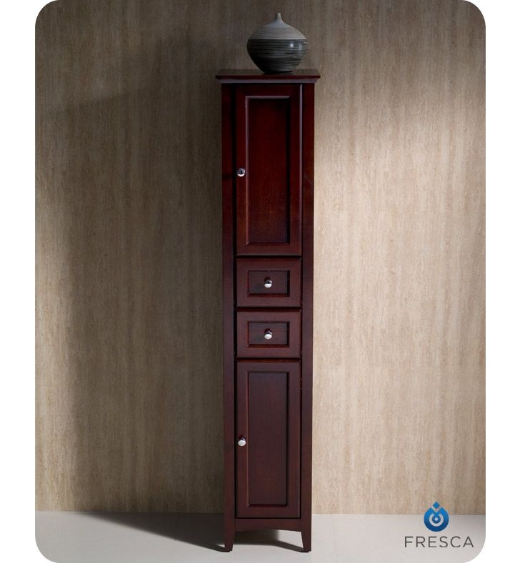 The Fresca Oxford Tall Bathroom Linen Cabinet ...