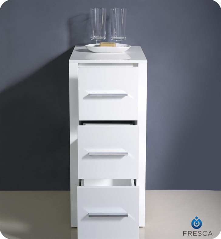This Side Cabinet Comes In A White