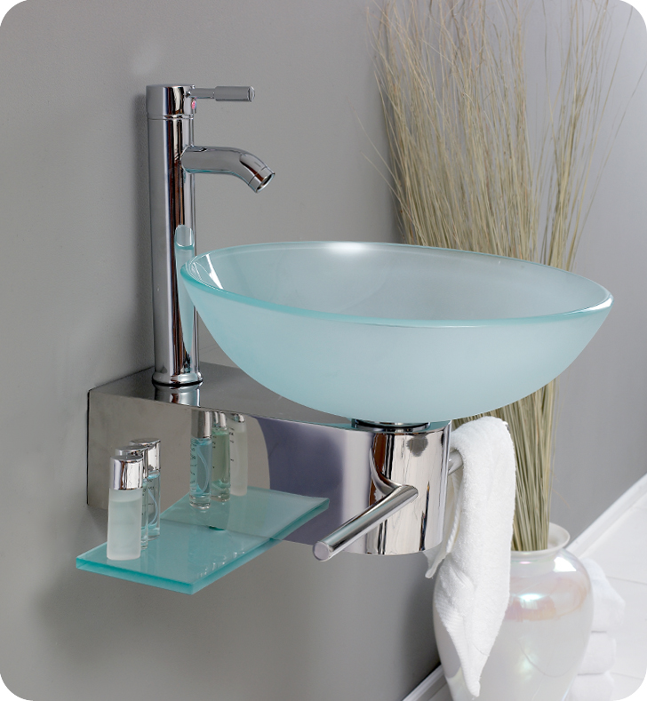 Bathroom Vanities Buy Bathroom Vanity Furniture Cabinets RGM - Fresca cristallino glass bathroom vanity