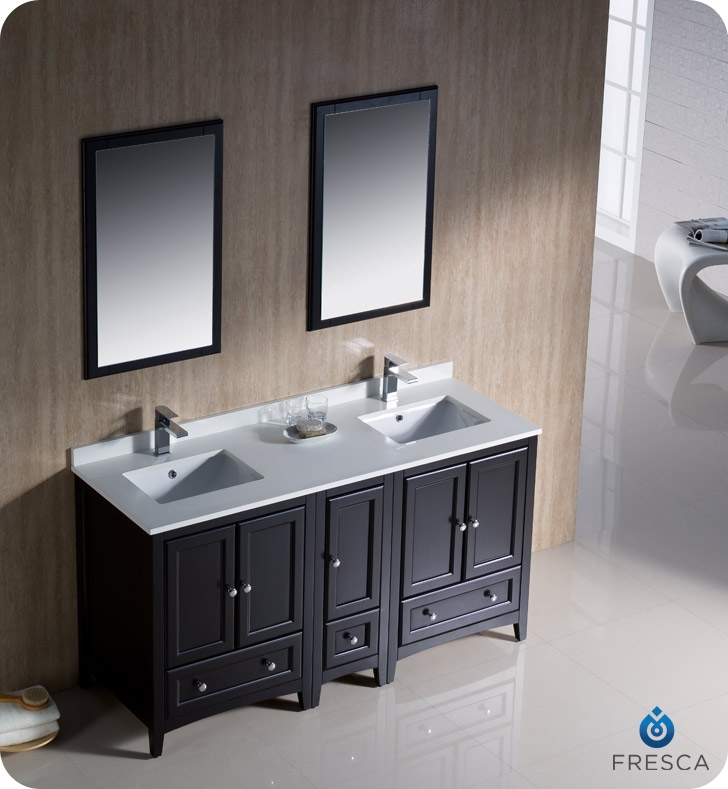 Espresso Painting Bathroom Cabinets For Double Sink Vanity A Beautiful Bathroom Sink Cabinet