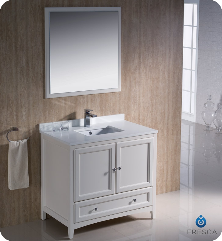 additional photos - White Bathroom Vanity 36