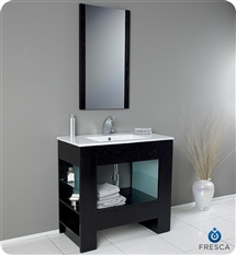 Fresca - Egoista - Bathroom Vanity w/ Venge Wood Finish - FVN3005WG