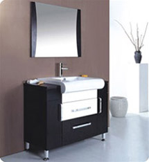 Fresca - Vita - Bathroom Vanity w/ Venge Wood Finish - FVN3013WG