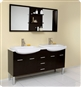 Fresca - Vetta - Double Sink Bathroom Vanity with Espresso Finish