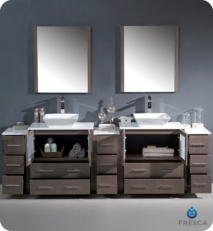 96 Bathroom Vanity Cabinets : Flexxlabsreview.com