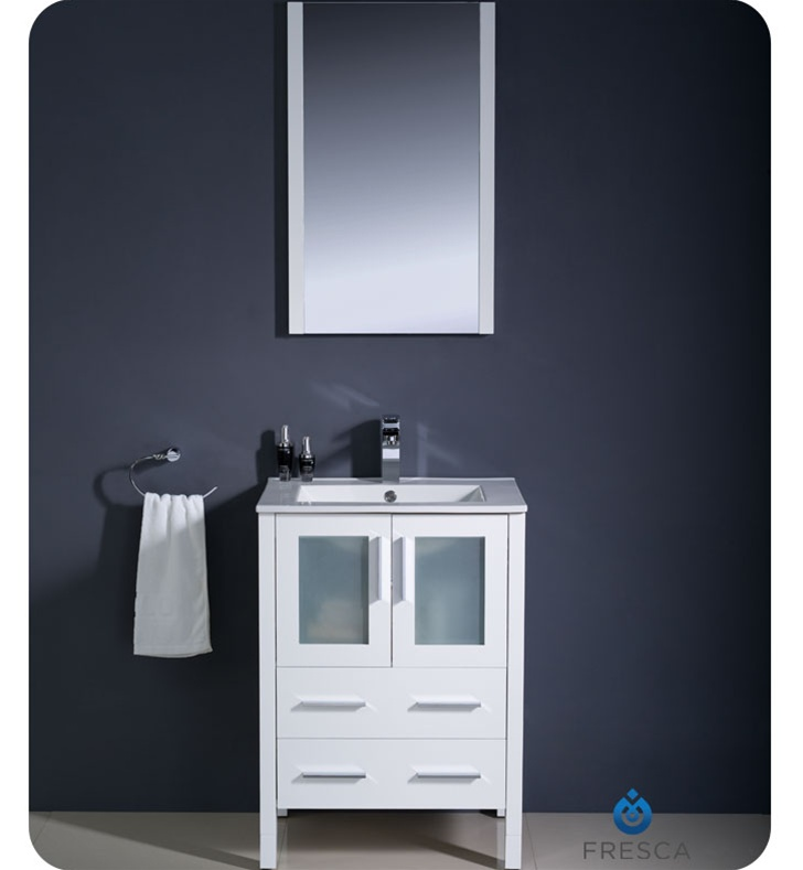 24 bathroom vanity with sink