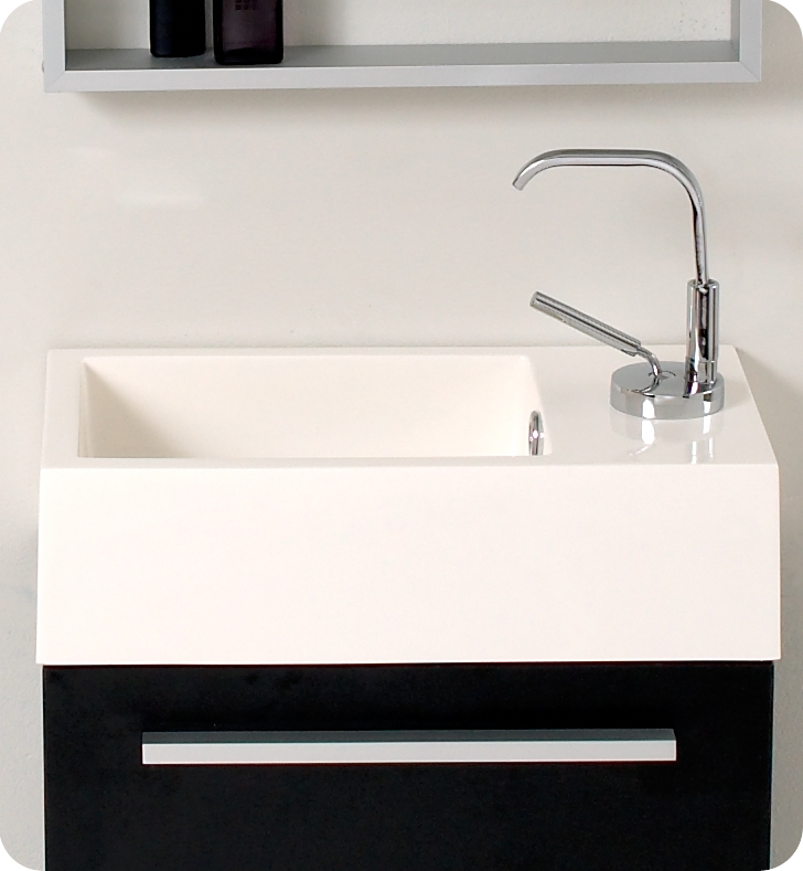 Innovative Design And Economical In Size Makes This Eco Friendly Vanity Ideal For Any Smaller