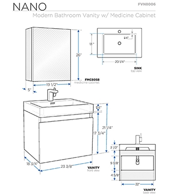 Delectable 30 bathroom vanity cabinet dimensions for Bathroom cabinets measurements