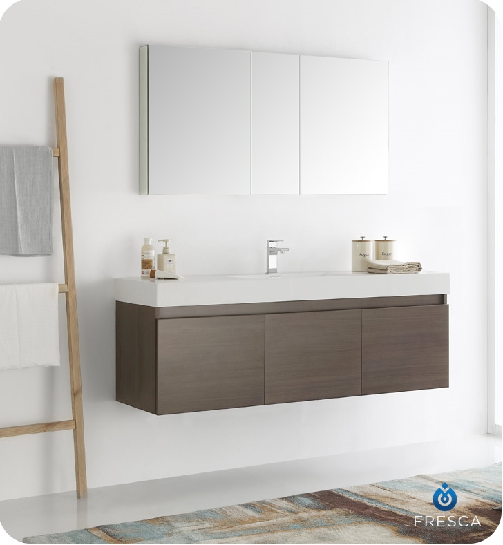 Modern bathroom cupboards bathroom cabinets and vanities for Nella vetrina vanity prices