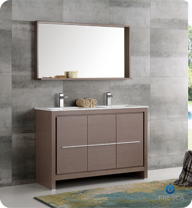Bathroom Vanities Buy Bathroom Vanity Furniture Cabinets RGM - 48 gray bathroom vanity